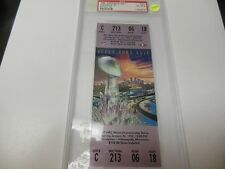 1992 SUPER BOWL XXVI  PSA 8 NEAR MINT FULL TICKET WASH REDSKINS BEAT BUFF BILLS