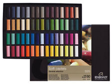 Rembrandt Artists Soft Pastel Set - Half Size Pastels - 60 Colours