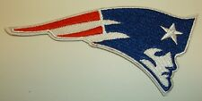 """New England Patriots Embroidered PATCH~4 1/8"""" x 2""""~Iron Sew On~NFL~Ships FREE"""