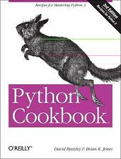 NEW Python Cookbook by David Beazley Paperback Book (English) Free Shipping