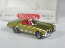 TOP: Wiking Serienmodell Mercedes 250 SL Cabrio gold in OVP