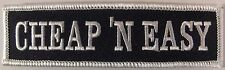 NEW CHEAP AND EASY VEST PATCH - BLACK AND WHITE