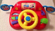 Disney Mickey Mouse and Friends Steering Wheel Drive Toy With Light and Sound