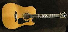 Alvarez md200c Masterworks Series Dreadnought Cutaway Acoustic Electric Guitar