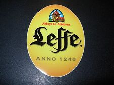 LEFFE Abbaye Blonde Belgium STICKER decal craft beer brewery brewing