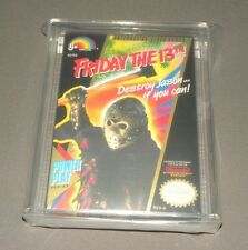 Vintage NES Nintendo Game Friday the 13th Factory Sealed VGA Uncirculated 85+