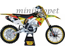 NEW RAY 57677 SUZUKI FACTORY RACING RM-Z450 DIRT BIKE #7 1/12 JAMES STEWART