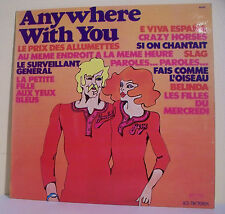 "33T The MUSIC SWEEPERS Disque LP 12"" ANYWHERE WITH YOU BELINDA LES TRETEAUX 6092"