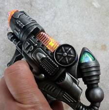 Steampunk cyber gothic gun revolver pistol Victorian laser LIGHT pirate Toy mini