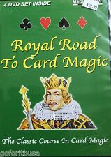 ROYAL ROAD TO CAD MAGIC (4 DVD SET)