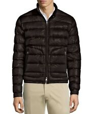 New Moncler 2016 Acorus Quilted Nylon Puffer Jacket Nwt Black