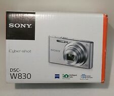 Sony Cyber-shot DSC-W830 20.1 MP HD Movie 720p Digital Camera - (Black) Defect