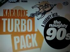 KARAOKE CDG    TURBO PACK  94  GOLDEN HITS from 90s    (SET  6 to 10)