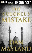 A Mark Sava Thriller: The Colonel's Mistake by Dan Mayland (2012, CD,...