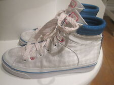 PASTRY WHITE HIGH TOP TRAINERS SIZE  4 1/2