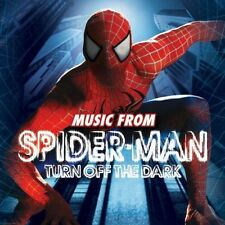 SPIDER-MAN TURN OFF THE DARK-COLONNA SONORA  CD NUOVO