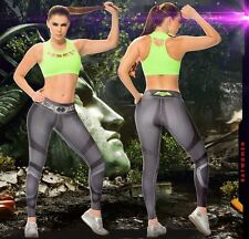 New Colombian BF Super Heroes Work Out Pants Gym Active Wear Leggings Fiber Dri