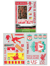 LIVERPOOL F.C OFFICIAL 32 STICKER PACK NOVELTY ITEM KIDS FAN NEVER WALK ALONE