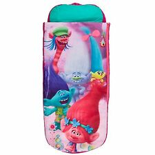 TROLLS JUNIOR READY BED SLEEPOVER SOLUTION CHILDRENS SLEEPING BAG NEW FREE P+P