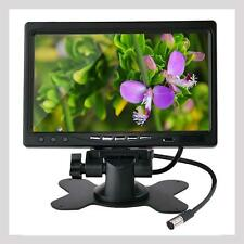 "7"" TFT Color LCD Display Monitor 2 Video Input Car Rear View Headrest VCR DVD AD"