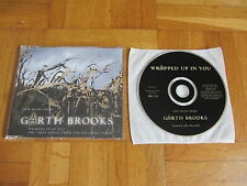 GARTH BROOKS Wrapped Up In You 2001 EUROPEAN collectors CD single