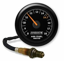 Innovate 3855 MTX-AL Analog Air/Fuel Ratio Gauge Kit, Black Dial