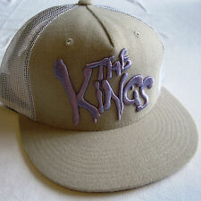 King Apparel 'Reyes'S Beige Blanco Violeta The Snapback Cap Sin Uso