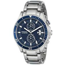 Fossil-CH2937's Watch Quartz Chronograph Stainless Steel Bracelet and Silver