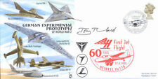 CC69b WWII WW2 German Experimental Jet flown RAF cover signed artist THEOBALD