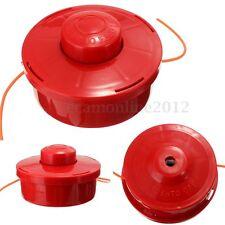 Débrousailleuse Tondeuse à Gazon Nylon Fil Ligne Tête + 2.4mm Couper Corde Rouge
