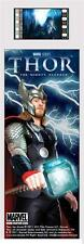 THOR 2011 Marvel Comics Action Superhero MOVIE Laminated FILM CELL BOOKMARK New