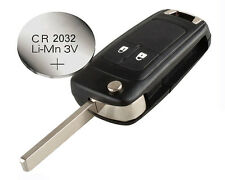 Vauxhall OPEL Astra Corsa Insignia Zafira 2 buttons REMOTE KEY CASE + battery