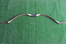 45LB Brown Handmade Traditional Longbow Recurve Bow For Horse Archery Practice
