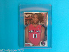 2009-10 DeMar DeRozan Rookie Sticker Panini NBA Basketball Stars Rare !!