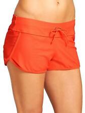 NWT Athleta Kata Swim Short, Ember Orange SIZE L   #983914
