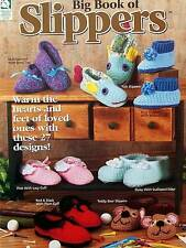 Crochet  Big Book Of Slippers  Patterns  House Of White Birches