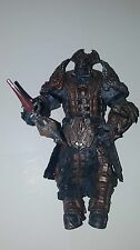 "Gears of War 2 PALACE GUARD Locust 7"" Action Figure Loose NECA 2009"