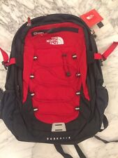 NWT The North Face  Men's Borealis Red/asphalt Backpack