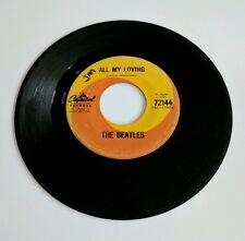 JIM MORRISON Signed 45 From The Laurel Canyon Estate The Beatles Autographed