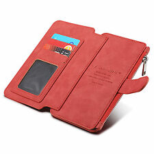 Shockproof Genuine Real Leather Wallet stand case cover for Various Mobile Phone