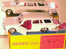 SIMCA 1500 BREAK 1966/71 DINKY TOYS REEDITION ATLAS / BLANCHE