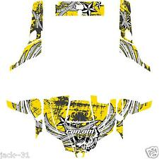 NG Racing WRAP QUAD CanAm Can am Commander 800r 800xt 1000 # NOVOBOAT YELLOW