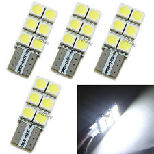 4x T10 194 168 W5W Wedge 5050 6 SMD LED Bulb XENON White Car Tail Turn light