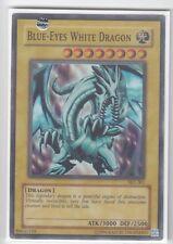 YU-GI-OH Blue Eyes White Dragon englisch SuperR SKE Blauäugiger Weißer Drache W.