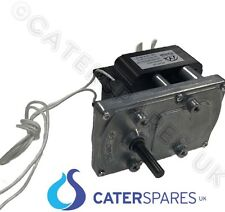 NEW DRIVE MOTOR & GEARBOX 240V FOR COMMERCIAL ROTARY CONVEYOR BELT TYPE TOASTER