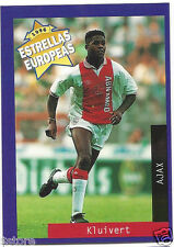 Rare '96 Panini Holland's EUROPEAN SUPER STAR Patrick Kluivert with AJAX