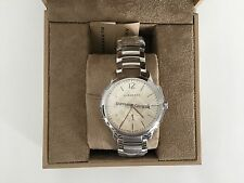 New Burberry Sapphire Crystal BU10004 $795 Stainless Steel Men's Classic Watch