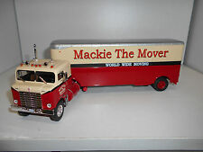 RMN KENWORTH BULLNOSE MACKIE THE MOVER CAMION TRUCK GIFT ALTAYA IXO 1:43