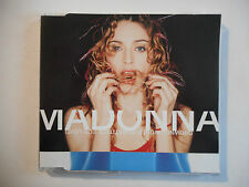 MADONNA : DROWNED WORLD ( SUBSTITUTE FOR LOVE ) ♦ CD SINGLE PORT GRATUIT ♦
