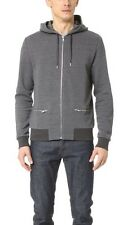 THE KOOPLES SPORT -  VESTE SWEAT SHIRT A CAPUCHE COTON GRIS T M = 46 - NEUF 195E